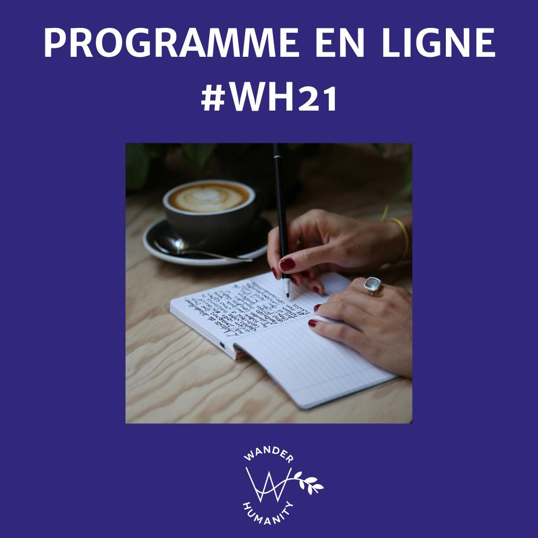 programme en ligne WH21 wanderhumanity